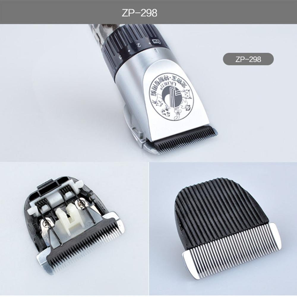 Professional Electric Dog Hair Clipper Blade Trimmer Head Accessories For LILI ZP-293 295