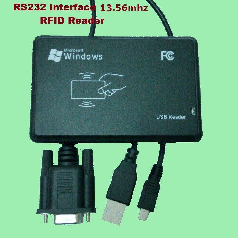 Купить rs232 inerface 1356 мгц рчид ic настольная карта usb считыватель