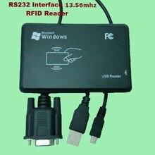 купить RS232 Inerface 13.56MHZ RFID IC Card Desktop USB Reader Compatible Security Proximity Sensor Smart EM100 Fast Response по цене 1211.07 рублей