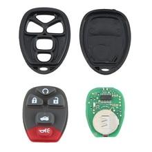 1 STÜCKE Fernbedienung 5 Tasten Starten Keyless Entry Autoschlüssel Fob Sender Clicker Alarm für 22733524
