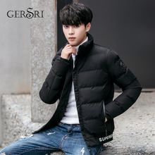 Gersri Winter Jacket Men Hooded Parka for Thick Windproof Outerwear Sports Luxury High Quality New Fashion Coat For Male