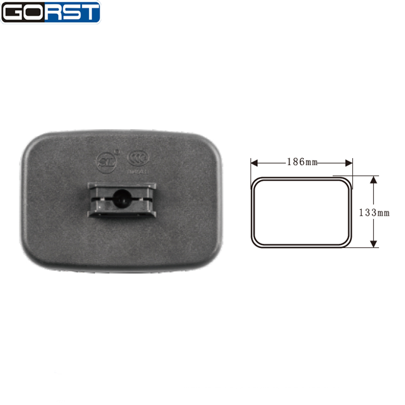 Automobiles Car Styling Reflector Rearview Mirror Side Mirror Exterior Assembly rectangle for canter light truck