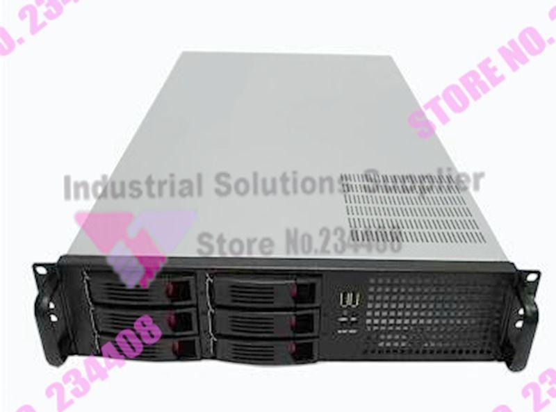 все цены на NEW 2U chassis 19 inch hot-swappable rack server chassis IPC chassis 6 drive bays new онлайн