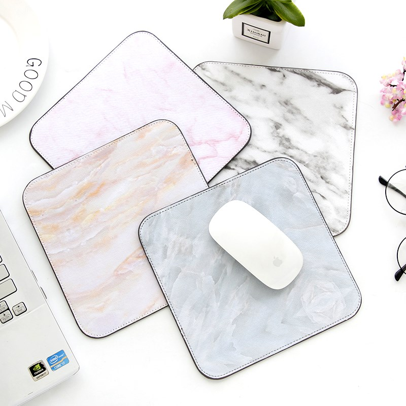 XGZ Marble Pattern Fashion Mouse Pad Gaming Mouse Accessories Office Desk Pad Mat For Laptop Gamer Gear Small Mousepad D.va