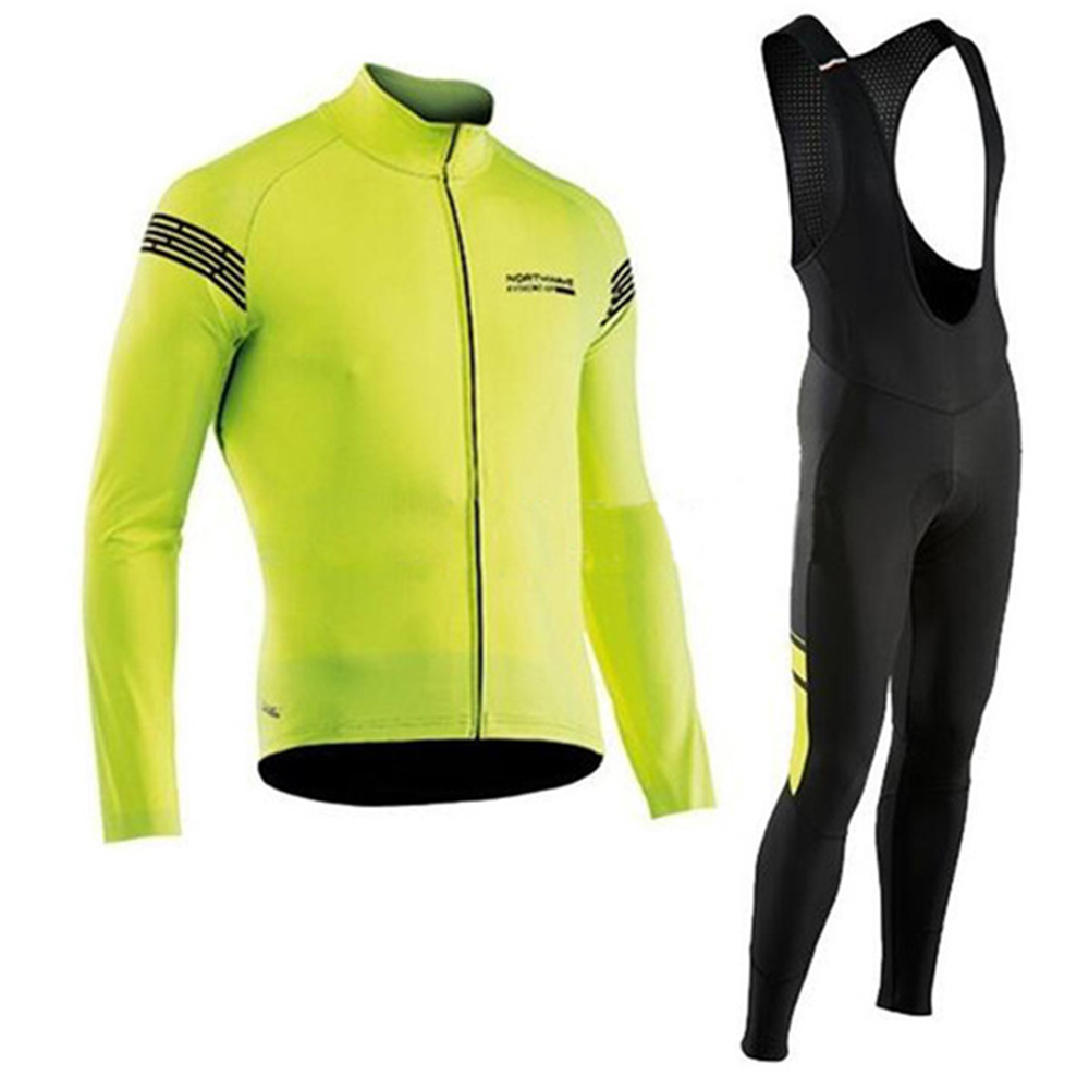 NW Northwave 2018 Autumn Cycling Jersey long Sleeve Bicycle Cycling Maillot Bike Shirt Maillot Ropa Ciclismo Bib Pants 2018 cycling jersey long sleeve pro bike bib pants set ropa ciclismo mens cycle wear bicycle uniformes maillot sportwear