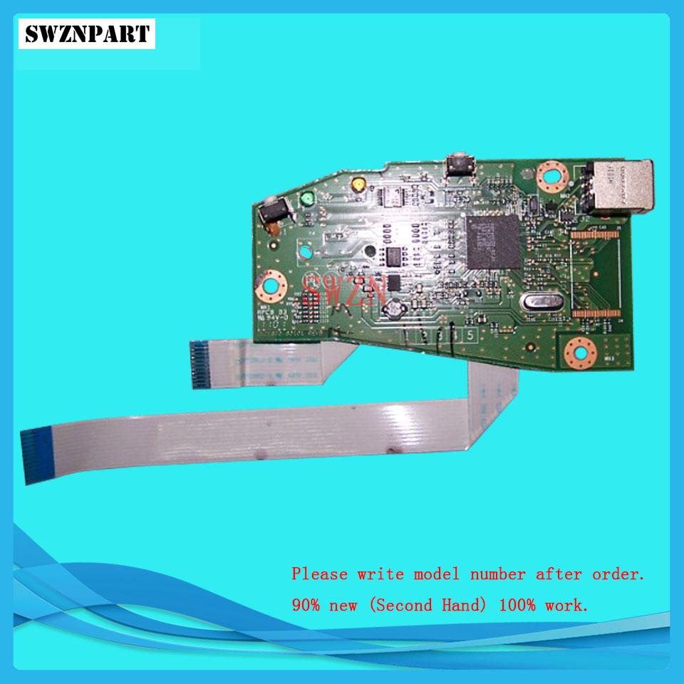 FORMATTER PCA ASSY Formatter Board logic Main Board MainBoard mother board for HP P1102W 1102W CE670-60001 formatter pca assy formatter board logic main board mainboard mother board for hp 3530 3525 cc452 60001 cc519 67921 ce859 60001