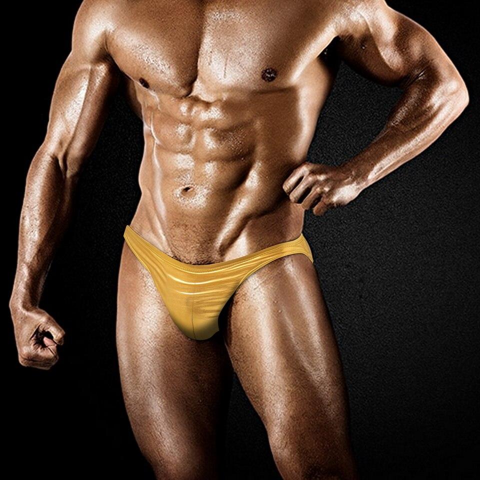 Austinbem bodybuilding shorts T shaped swimming trunks sexy men s swimming trunks men s swimming trunks