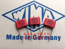 2019 hot sale 10pcs/20pcs Germany WIMA capacitor MKP10 630V0.01UF 630V103 P: 10mm spot Audio capacitor free shipping 2019 hot sale 10pcs 20pcs germany wima mkp10 1000v 0 0033uf 3300pf 1000v 332 p 10mm audio capacitor free shipping