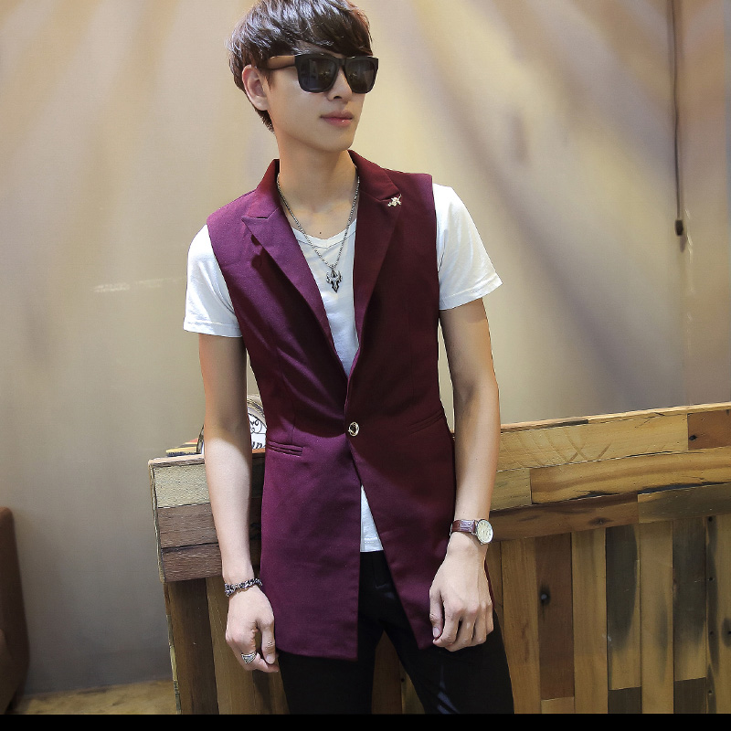 Aliexpress.com : Buy Men suits dress vest men slim sleeveless coat ...