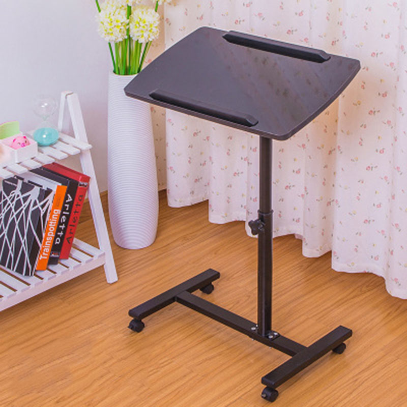 Mobile Notebook Table Computer Desk Bedside Sofa Bed Folding Laptop Table Simple Laerning Table Bed Small Table Home Supplies goplus modern simple laptop holder living room home end stand desk table notebook beside sofa bed home office furniture hw56969