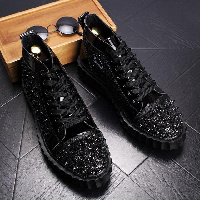 Punk High Top Hip Hop Sneakers 2