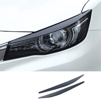 Window Body Headlamp Automobile Modified Chromium Upgraded Car Styling Sticker Strip Protecter 18 19 FOR Morris Garages MG 6