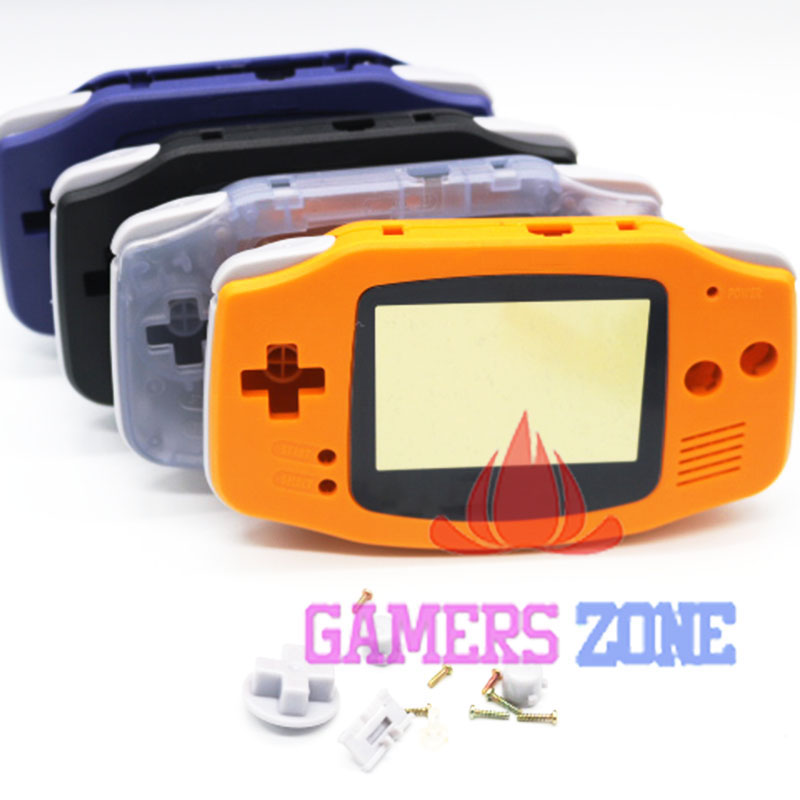 8pcs Housing Shell Case Cover Replacement for Nintendo GBA Gameboy Advance