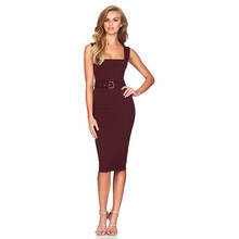 2018 Newest Summer Spagetti Strap Bandage Dress Fashion Women Backless  Bodycon Elegant Night Out Sexy Party 7c2876d1da53