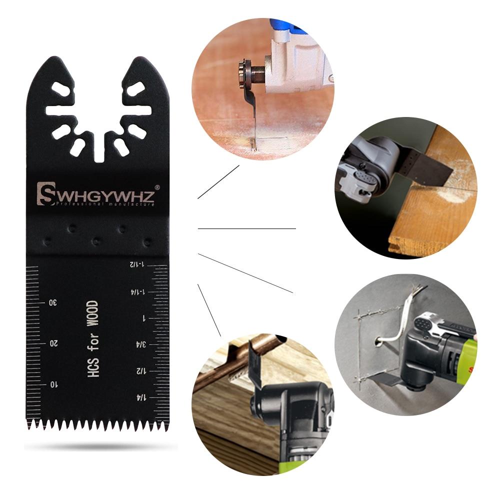 WHDZ Universal Renovator Multitool Blades Electric Multifunction Oscillating Tool Kit Saw Blade Oscillating Multi Parts Tool