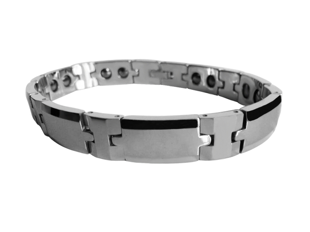 Mens Gift Tungsten Carbide  Bracelets with Germanium Magnetic / TUBR1028