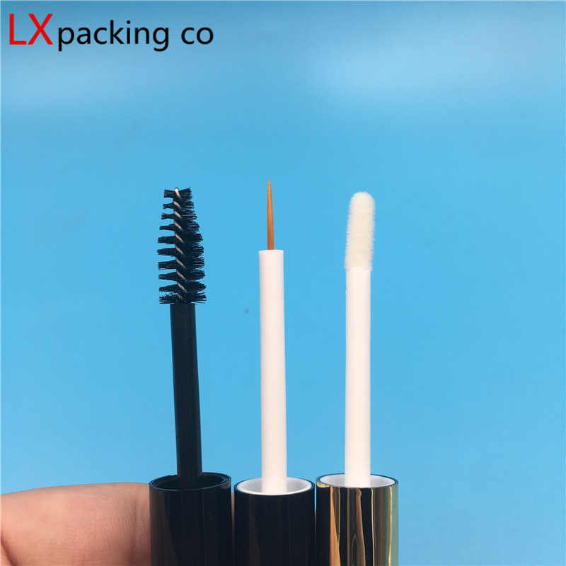 7fa52eff4e8 ... 50 pcs Free Shipping 5 ml Transparent Plastic lip gloss Tube Bottles  Eye Liner Mascara Cosmetic ...