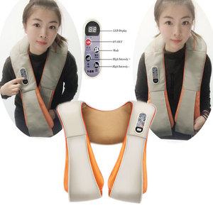 Image 1 - Shawl Relax Massage Relaxation For Electric Back Massager Neck Shoulder Body Health Care Beat Heating
