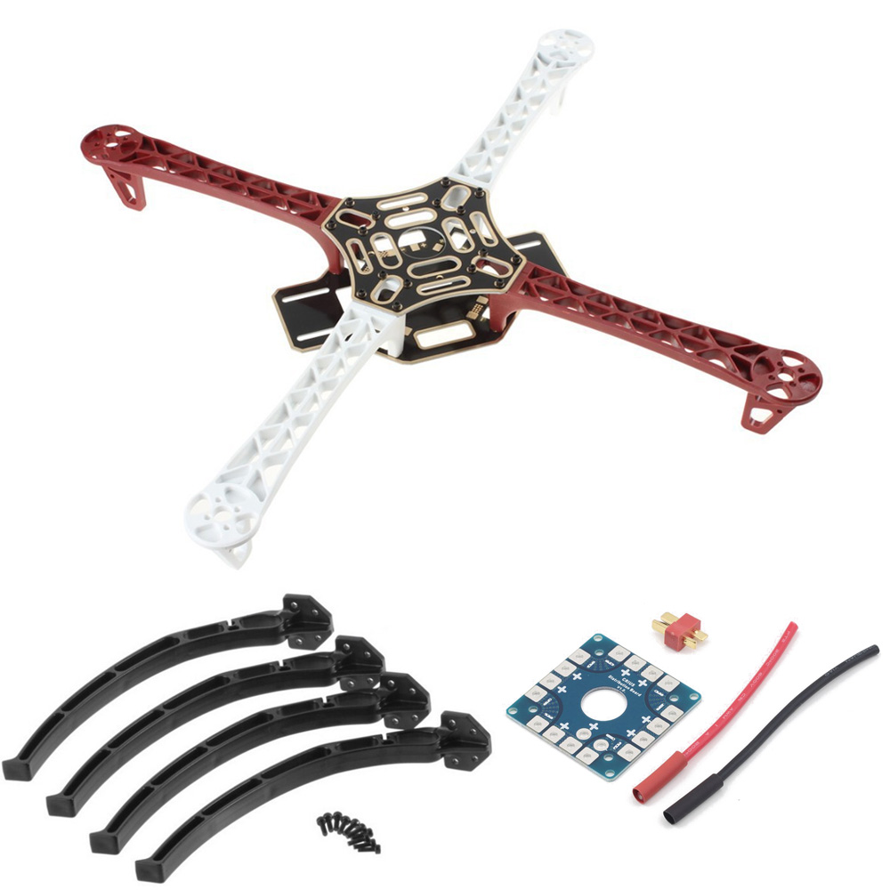 F450 Drone With Camera Flame Wheel KIT 450 Frame For RC MK MWC 4 Axis RC Multicopter Quadcopter Heli Multi-Rotor With Land Gear