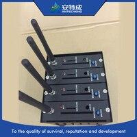 4 порта канальный gsm-модем отправьте sms на команды, 4 порт модемного пула wavecom q24 плюс, 4 порта usb GSM модемный пул