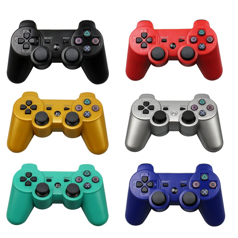 For Sony Playstation3 szKosTon 11 Colors 2.4GHz Wireless Bluetooth Game Controller For PS3 Controller Joystick Gamepad Top Sale01