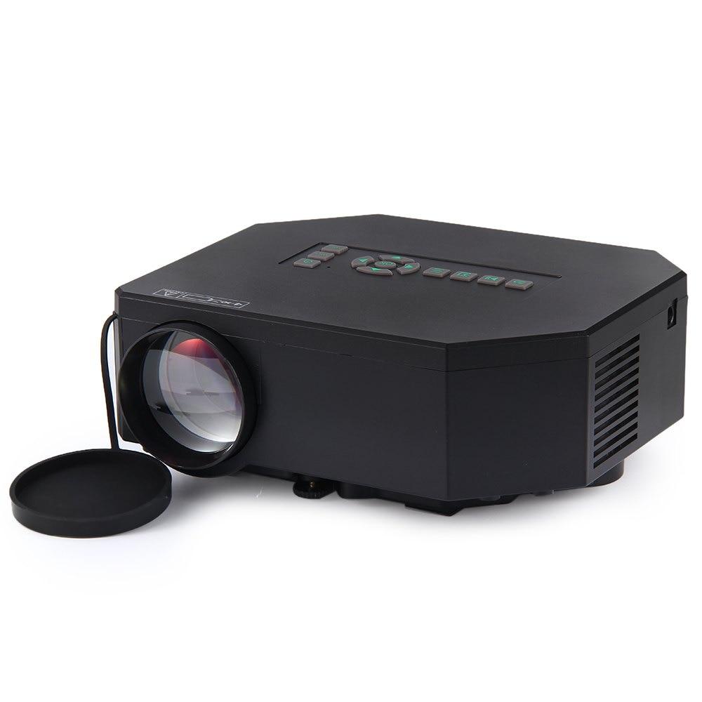 Newest Original UC30 Mini LED Projector 150 Lux 640x480 Pixels Portable Home Theater Projector EU PLUG