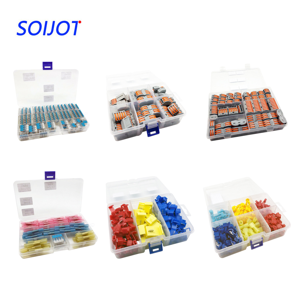 50pcs/box 221  Mini Fast Wire Connectors,Universal Compact Wiring Connector,push-in Terminal Block
