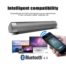Portable Super Bass Home Theater Soundbar TV Speaker Subwoofer Bluetooth Column 10W Wireless Bluetooth Speaker bluetooth speaker tv soundbar 4 driver home theater stereo heavy bass tf card n s09 wall mounted speaker smart home soundbar new
