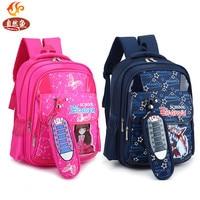 Waterproof Kids Schoolbag Travel Backpack Cartoon Orthopedic Children School Bags For Boys And Girls Mochila Infantil