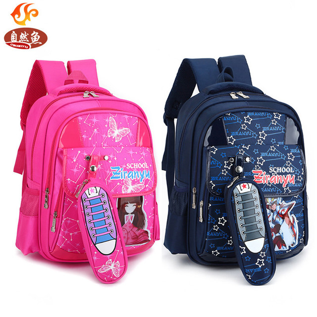 Waterproof Kids Schoolbag Travel Backpack Cartoon Orthopedic Children  School Bags For Boys and girls Mochila Infantil Handbag 8de2dc44ad549