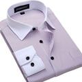 Big Size 4XL 5XL 6XL Fashion White Collar Striped Men Shirts Brand Design Chemise Homme High Quality Cotton Business Dress Shirt