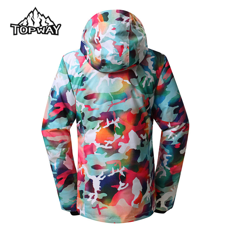 98648a4e35 New Waterproof Winter Windproof Jaqueta Feminina Anti Wear Snowboard Snow  Skirt Design Ski Jacket Women Outdoor Sport Coat-in Skiing Jackets from  Sports ...