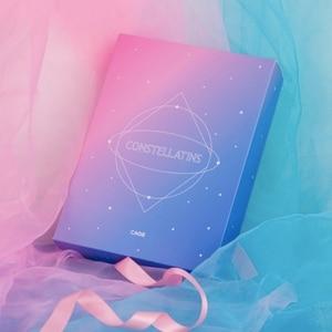 Image 2 - Cuaderno creativo con constelación del zodiaco, diario con cerradura, decoración de diamantes, diario, planificador, 2019