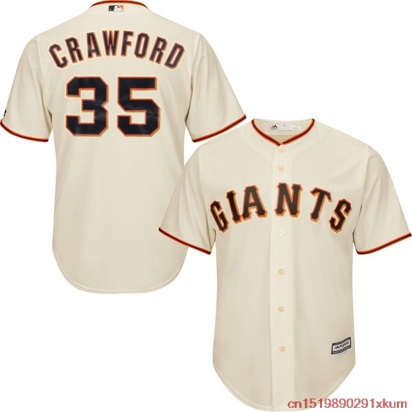 mlb mens san francisco giants brandon crawford baseball black alternate 2017 cool base player jersey