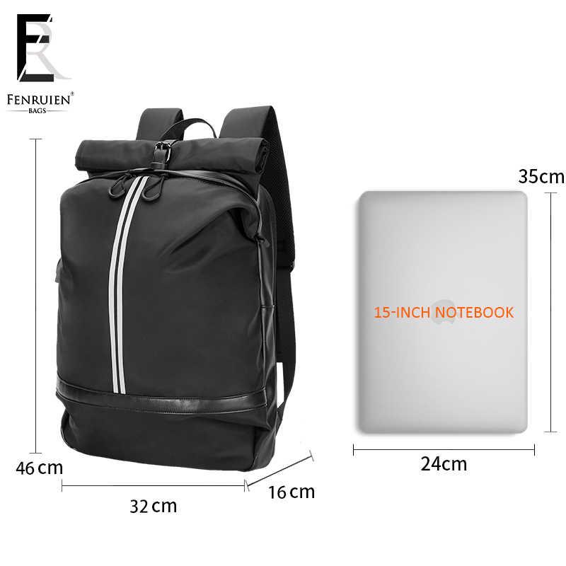 กระเป๋าเป้สะพายหลัง USB ชาร์จแล็ปท็อปกระเป๋าเป้สะพายหลัง 15.6 ชายขนาดใหญ่แฟชั่นกระเป๋าเป้สะพายหลัง Mochila Mujer