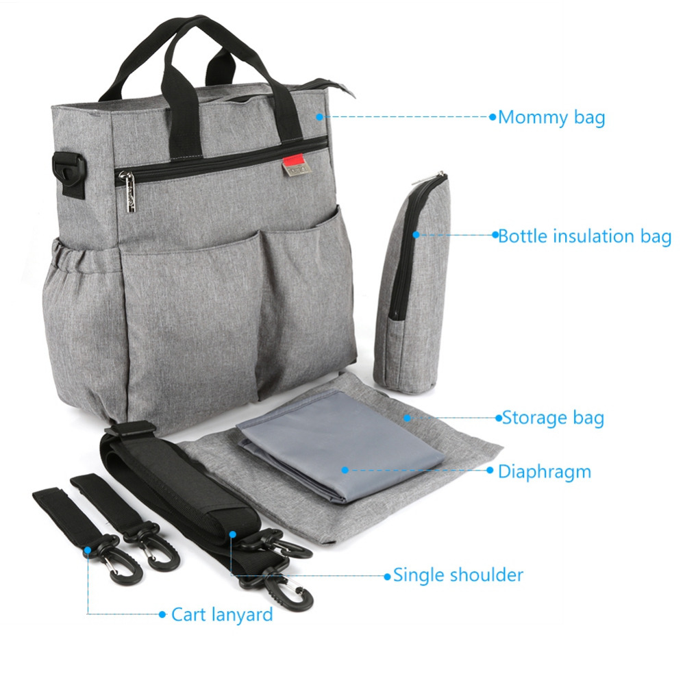 HTB1gLLoHf1TBuNjy0Fjq6yjyXXaJ Insular Mummy Diaper Bag Large Nursing Bag Travel Backpack Designer Stroller Baby Bag Baby Care Nappy Backpack bolsa maternidade