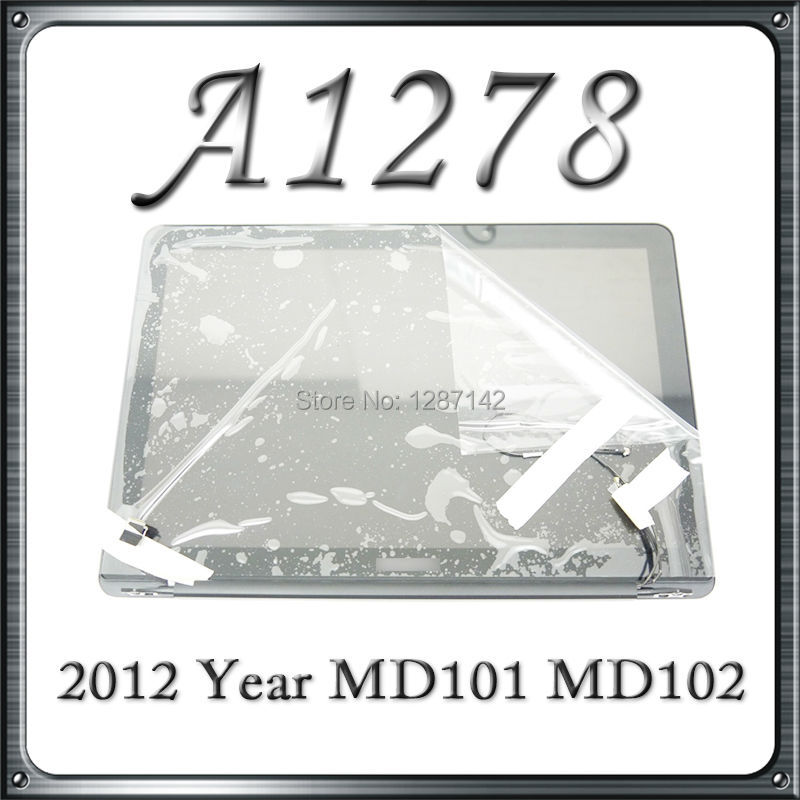 A1278 LCD Screen Display Assembly For Macbook Pro 13 2011 2012 New Original LCD Assembly