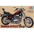 Tamiya 14044 1/12 Virago XV1000 OHS Escala Motocicleta Montagem Modelo de Construção Kits