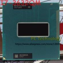 Original Intel Core I7 3632QM SR0V0 CPU I7 3632QM prozessor 2,2 GHz L3 = 6 M Quad core freies verschiffen schiff heraus innerhalb 1 tag