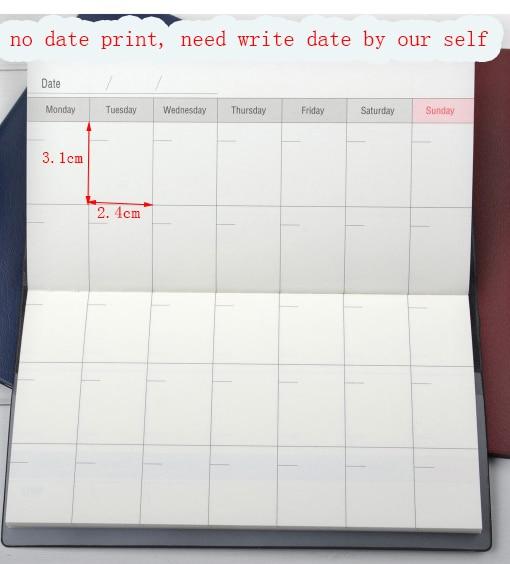 ff6d4e27647b 2019 kalendarz diary planner notatnik