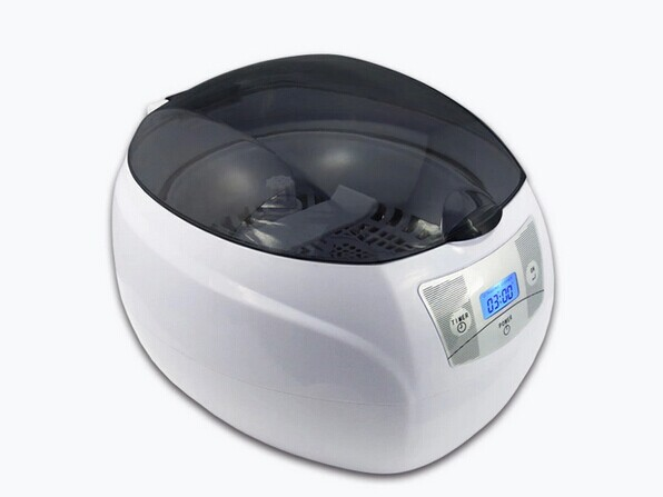 Household Mini Digital Ultrasonic Cleaner 750ml 220V 50W For CD Glasses Watch Jewelry 0 75l 50w household digital ultrasonic cleaner bath fruit glasses cd jewelry denture watch shaver head ultrasound timer tank