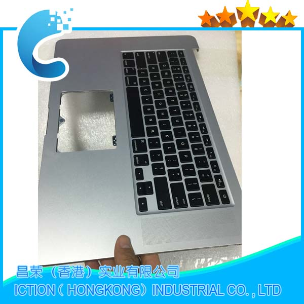 Original A1398 Topcase with US Keyboard layout for Apple Macbook Pro 15'' Retina A1398 top case with Keyboard US Layout 2013 original 15 a1398 lcd screen display 2012 2013 2014 for macbook pro retina 15 4 a1398 lcd panel lp154wt1 sjav replacement