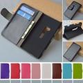 J & R marca PU Wallet Case para Nokia Lumia 920 tirón de la cubierta cajas del teléfono con soporte y titular de la tarjeta 9 colores