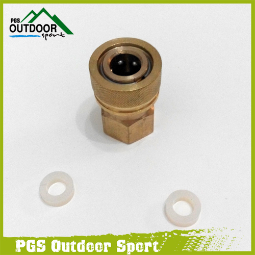 Image 1 - Paintball PCP Filling Charging Hose Quick Release Coupler Fitting 8 mm Female Socket Quick Disconnect M10*1.0-in Paintball Accessories from Sports & Entertainment