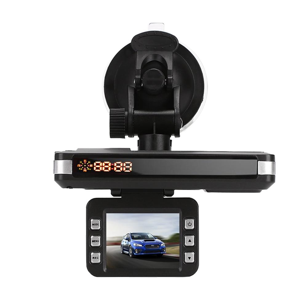 2 in 1 Driving Recorder + Radar Speed Warning Voice Alert Warning Night Vision Dash Cam DVR Recorder