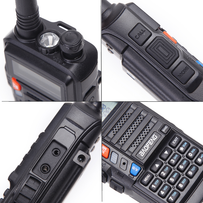 BaoFeng UV-S9 8W 10km Long Range Portable Powerful Walkie Talkie CB Radio Transceiver
