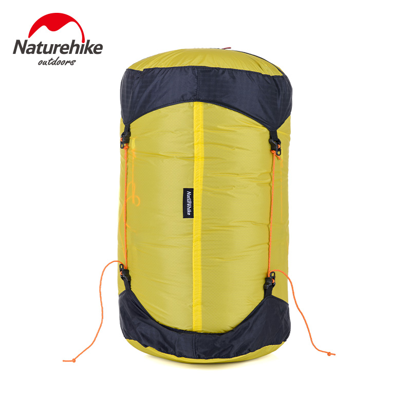 NatureHike Outdoor Sleeping Bag Sack Pack Compression Stuff Sack 20D Silicone Waterproof Storage Carry Bag For Camping Hiking