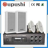 Oupushi эксклюзивный магазин фоновые музыкальные колонки с Bluetooth усилитель мощности потолочный динамик водостойкая Колонка музыкальный магаз