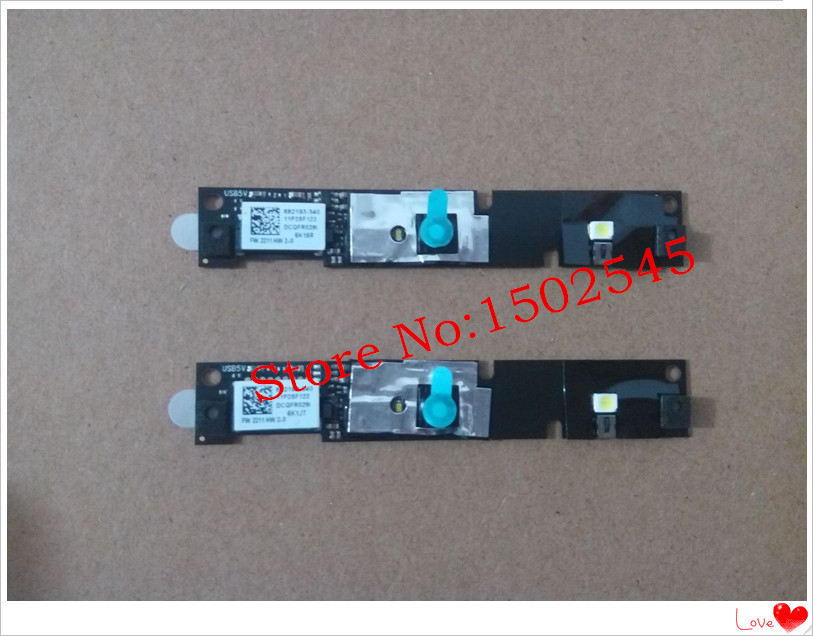 US $18 99 |Free shipping genuine shipping laptop Webcam with lights for HP  EliteBook 2560P 2570P 8460P 8460W 8470P 8470W camera with cable-in LCD