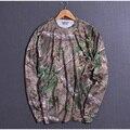 2017 Primavera Outono Homens de Manga Longa Casual Camisa T Rápida Camuflagem seco de Alta Qualidade Homem Camisas Plus Size L/XL/XXL promoção